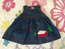 Baby Gap baby girl jean dress 3-6 months old