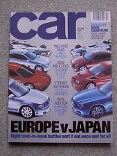 Car (July 2000) Nissan Skyline GT-R,Audi RS4, Sunny GTi-R, Golf VR6, Ferrari 360