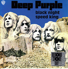 "7"" DEEP PURPLE black night / speed king 45 RECORD STORE DAY EU 2015 RSD"