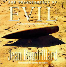 Baudrillard-The Transparency Of Evil  BOOK NEW