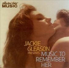 Music to Remember Her Jackie Gleason & His Orchestra CD out of print fast free