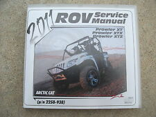 2011 Arctic Cat Prowler XT Prowler XTX Prowler XTZ Service Manual on CD