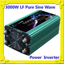 12000W Peak 3000W Low Frequency Pure Sine Wave Power Inverter 12VDC/110VAC Tools
