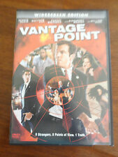 Vantage Point (DVD, 2008) Widescreen Edition Featuring Dennis Quaid