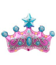 Princess Crown Foil Balloon - Girls Birthday Party / Decorations / Magical
