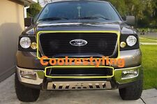For 2006 2007 2008 Ford F150 Black Billet Grille Grill Replacement Inserts