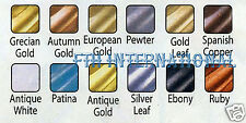 Set of 12 Amaco Rub 'N Buff Wax Metallic Finish for Crafts etc, 1 of each colour