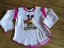Free Ship OILILY Girls Thanksgiving BAMBI DEER WOODLAND Raglan Top18-24m 2T 92