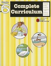 Flash Kids Harcourt Family Learning: Complete Curriculum: Grade 6 (Flash Kids...