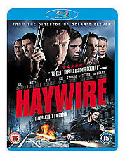 Haywire on Blu-ray DVD Gina Carano, Antonio Banderas, Ewan McGregor - NEW Sealed