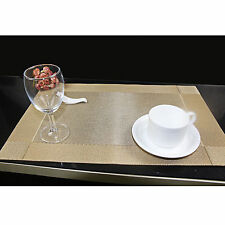Kitchen Table Cup Bowl Placemat Rectangle Tableware Pad Mat Heat Resistant