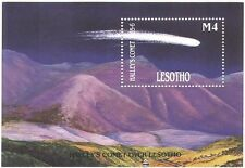 Lesotho 1986 Halley's Comet/Astronomy/Space/Science/Mountains 1v m/s (b1869)