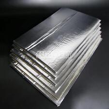 6Pcs Glass Fibre Car Engine Bay Bonnet Insulation Noise Hood Sound Proofing Heat
