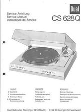 Dual Original Service Manual für Phono CS 628 Q