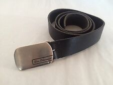 Black Leather Ben Sherman Belt To Fit 32 inch - 35 inch Size Medium