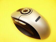 OTTICO WIRELESS 9 Tasti Radio Mouse con supporto di ricarica/con scrollball