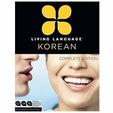 LIVING LANGUAGE KOREAN [978 - SUZANNE MCQUADE, ET AL. JAEMIN ROH (PAPERBACK) NEW