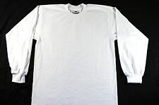 Pro Club Heavyweight T-shirt 100% Cotton-WHITE-3XLarge-LONG SLEEVE-Set of 6 pcs