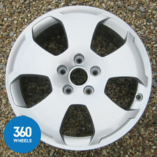 "1 x GENUINE AUDI A3 17"" 5 SPOKE HOLE ALLOY WHEEL 8P0601025C"