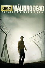 The Walking Dead: Complete Fourth Season 4 (DVD, 2014, 5-Disc Set) NEW