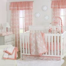 Peanut Shell 4 Piece Baby Nursery Crib Bedding Set Mod Medallion with Bumper NEW