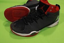 Nike Air Jordan Melo Basketball Shoes Sz 8.5 Sneakers Black Red Anthracite