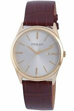 NEW Johan Eric JE8000-09-001 Mens Viborg Yellow Gold Ion-Coated Steel Watch 30M