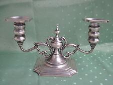 Wunderschöner großer 925er STERLING Silber Kerzenleuchter