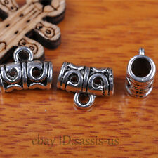 30pcs Charms Tibetan Silver Connector Bails Fit Pandent DIY Jewery Making A7294
