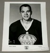Orig. Late-60's Howie Menard Los Angeles Kings Photo