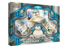 Pokemon Trading Card Game Snorlax GX Box New/Sealed