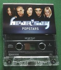Hear'say Popstars inc Pure and Simple & Sweet Alibi + Cassette Tape - TESTED