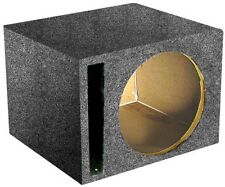 "Qpower QSBASS10 *Sbass10* Empty Woofer Box ; (1)10"" Slot Ported"