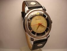Poljot Kirovskie mens wrist watch I MChZ 16 jewels Vintage GIft USSR Serviced