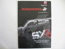 WINCHESTER MAGAZINE 2017 - PRODUCTS & PRICES - SHOTGUNS. RIFLES, AMMUNITION