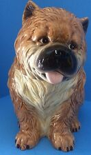 """NEW """" CHOW CHOW PUPPY"""" Cookie Jar by Westland Giftware NO.PD721 Box Not included"""