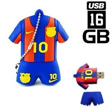 PENDRIVE 16GB USB FLASH 2.0 FC BARCELONA MESSI