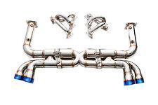 IPE Full Exhaust System for Porsche 996 Turbo  Turbo S
