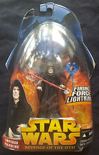 Hasbro Star Wars: Revenge of the Sith Emperor Palpatine Firing Force Lightning
