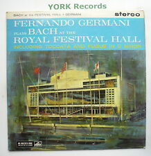 CSD 1318 - GERMANI PLAYS BACH - At The Royal Festival Hall - Ex Con LP Record