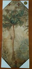 "REAL CANVAS Palm Tree CANVAS Wall Decor Picture 20""x 8"""