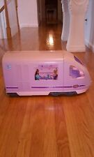 Barbie Travel Train Sounds Records Voice Moving Window Scene