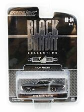 Greenlight Black Bandit 1968 Buick GS 400 1:64 diecast car MOC