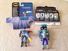 """Batman """"Spectum of the Bat"""" & """"Mr. Freeze"""" Action Figures - EUC"""