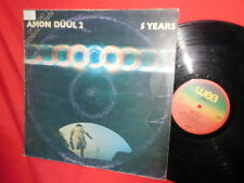 AMON DUUL 2 Five Years LP 1980 ITALY EX First Pressing Promo