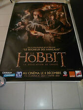 AFFICHE CINEMA ROULEE - LE HOBBIT LA DESOLATION DE SMAUG - PREVENTIVE - 120x160