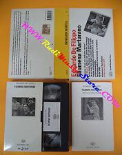 BOX VHS + LIBRO book Eduardo De Filippo FILUMENA MARTURANO EINAUDI no dvd (F110)