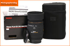 Sigma 70mm F2.8 EX DG Macro Lens - Canon Fit Free UK Postage