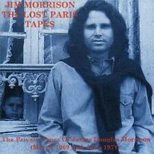 JIM MORRISON OF THE DOORS LOST PARIS TAPES POETRY CD +