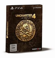 Uncharted 4 A Thief's End  Special Edition PS4 Neu & Ovp